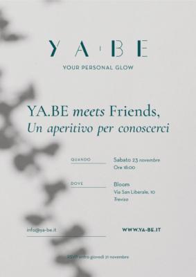 YA.BE metts Friends Treviso